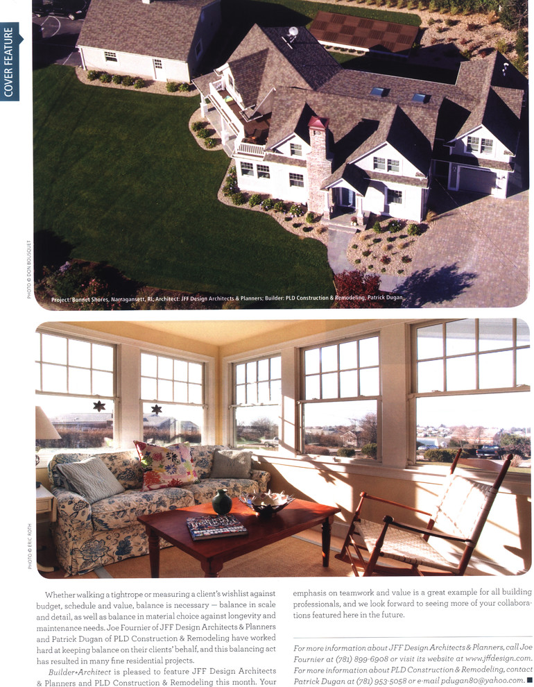 Featured - Greater Boston Builder + Architect