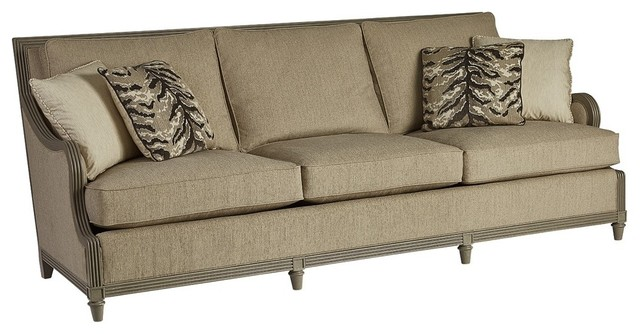 Thistle 3-Seater Sofa, Light Wood.