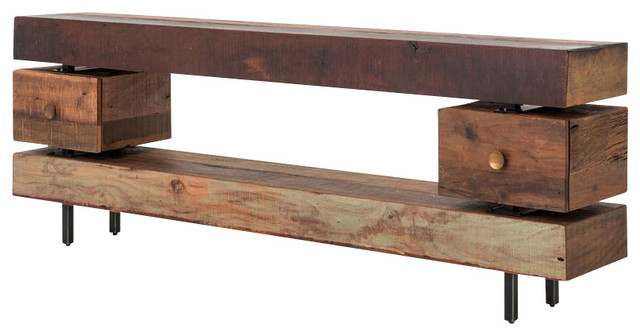 Four Hands Dillon Console Table Rustic Tables