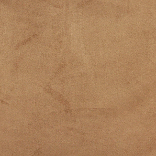 C055 Camel Brown Microsuede Fabric By The Yard