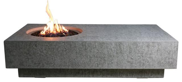 cast concrete metropolis table propane modern fire pits by ocean rock usa llc. Black Bedroom Furniture Sets. Home Design Ideas