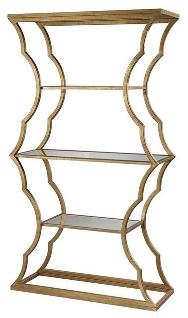 Dimond Home Metal Cloud Bookcase