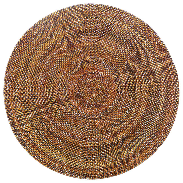 Calaisio Round Rattan Placemat Placemats Houzz