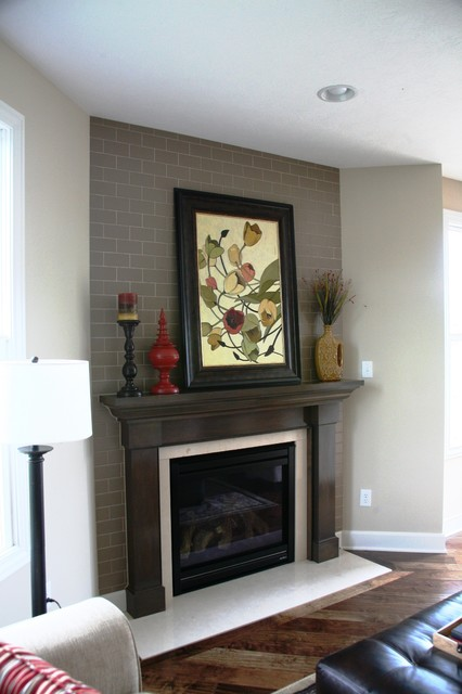 Lombardo Home Tile Traditional Living Room Indianapolis By Drexel Interiors