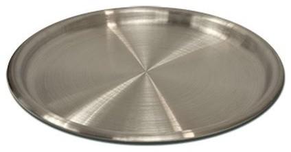 "Bayou Classic 18.5"" Large Big Crawfish Tray/water Pan, Aluminum."