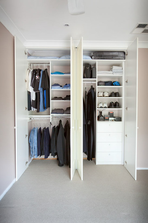 Groovy How To Design A Practical Closet Home Remodeling Inspirations Basidirectenergyitoicom