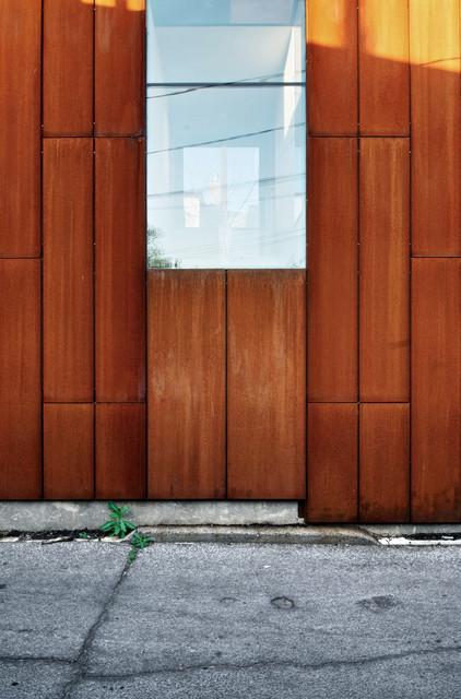 Exterior Details - Corten Steel industrial & Exterior Details - Corten Steel - Industrial - Toronto - by Andrew ...