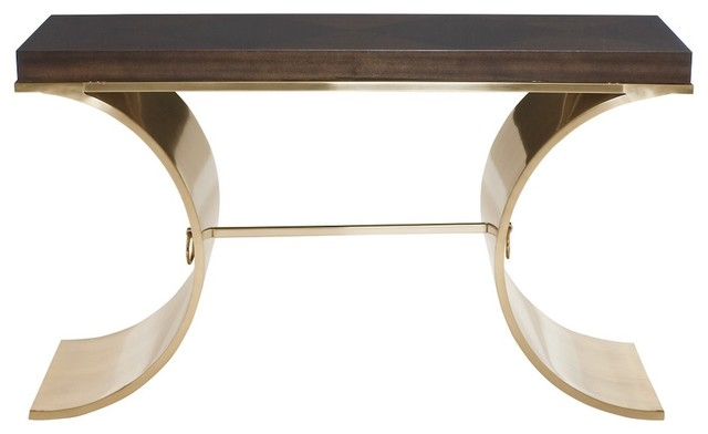 Samuelson Modern Console Table Contemporary Console