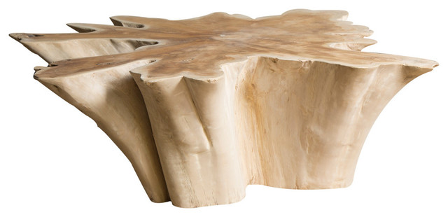 Star Natural Wood Coffee Table, Large.