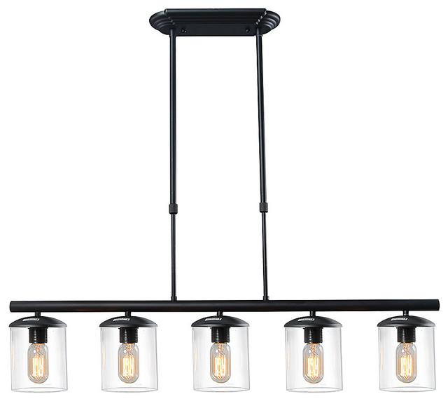 LNC Downey 5-Light Kitchen Pendant