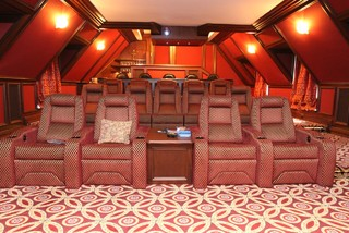 C1 - Custom Home Theater Chairs modern-home-theater