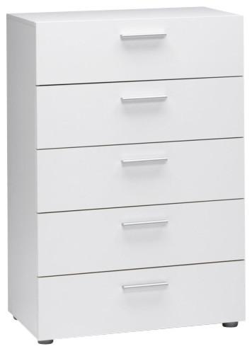 3 draer white dresser 40