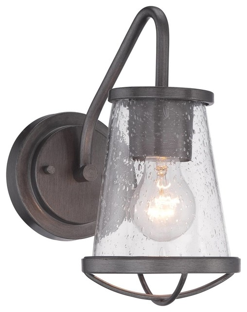 industrial bathroom lighting. designers fountain darby bathroom lighting fixture weathered iron 1light industrialbathroom industrial l