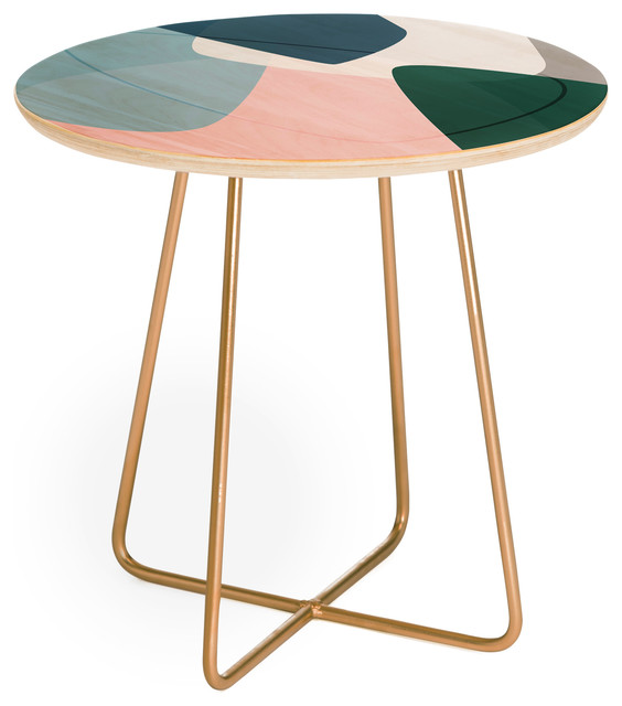 Mareike Boehmer Graphic 150 E Round Side Table.