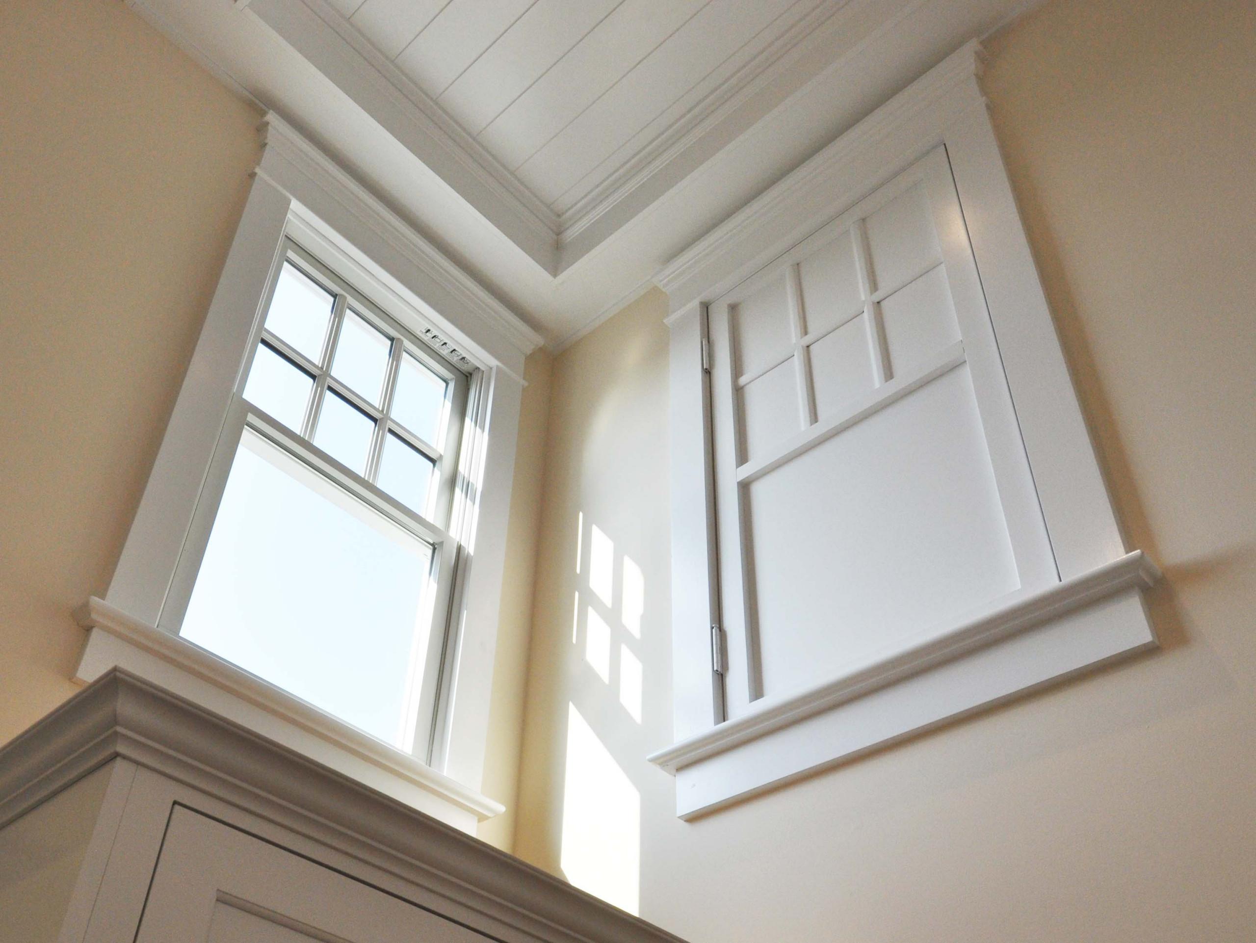 Kitchen Window and Secret Door