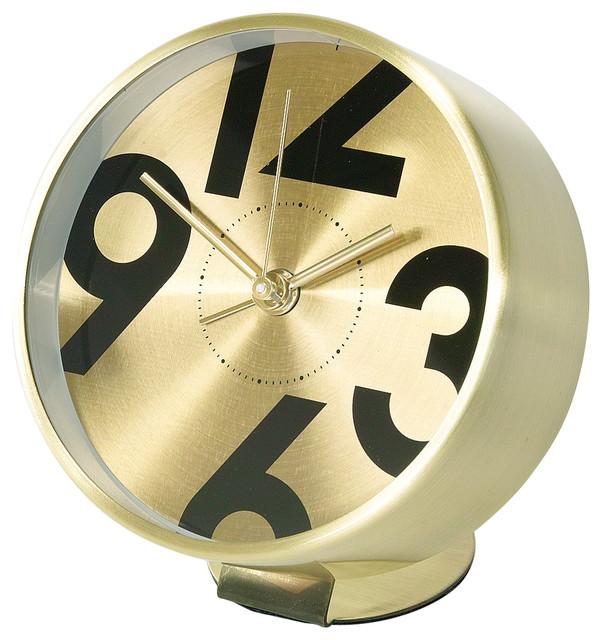 Edge bedside alarm clock number modern alarm clocks for Designer alarm clock