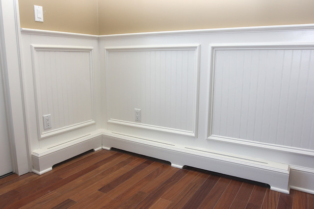 Wainscot And Picture Frames Traditional Kids New York By Trim Team on