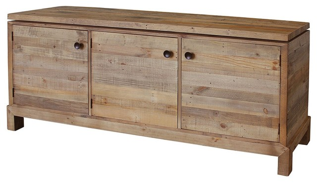 Angora Reclaimed Wood Sideboard beach-style-buffets-and-sideboards - Angora Reclaimed Wood Sideboard - Beach Style - Buffets And