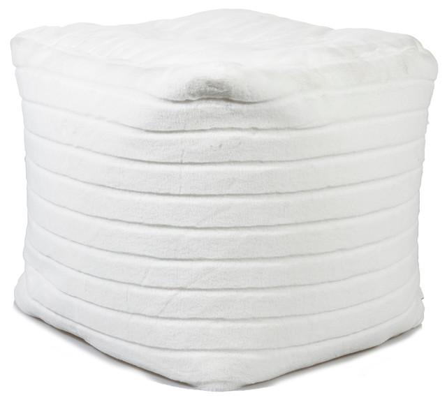 Tremendous Faux Fur Bean Bag Chair Mink Evergreenethics Interior Chair Design Evergreenethicsorg