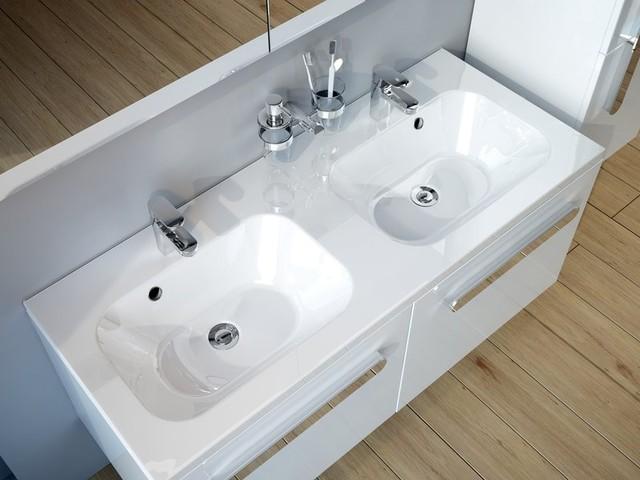 Doppelwaschbecken modern  Doppelwaschbecken