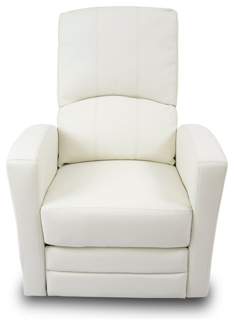 Habana Swivel Recliner Chair White contemporary-recliner-chairs  sc 1 st  Houzz & Habana Swivel Recliner Chair - Contemporary - Recliner Chairs - by ... islam-shia.org