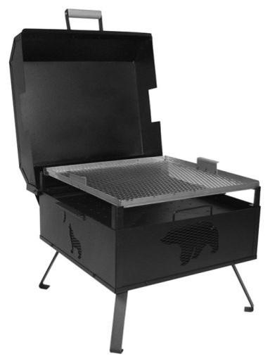Buck Stove Ma-Cgsupreme Freestanding Supreme Charcoal Grill.