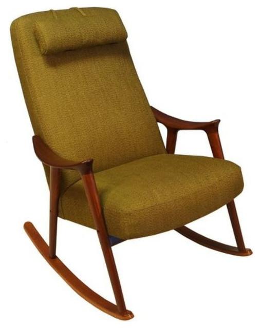 Ingmar Relling For Westnofa Danish Rocking Chair   $2,400 Est. Retail    $1,688 O