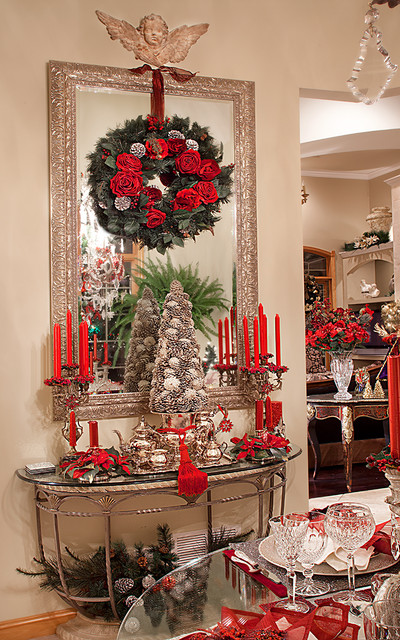 Christmas Decor - Mediterranean - Dining Room - chicago ...