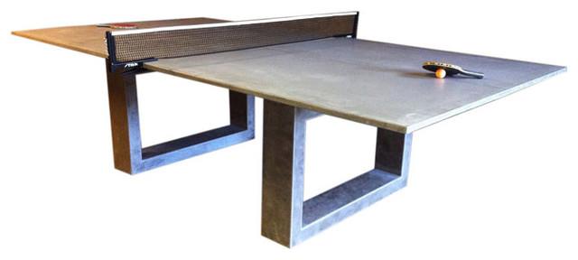 James De Wulf   Concrete Ping Pong Table