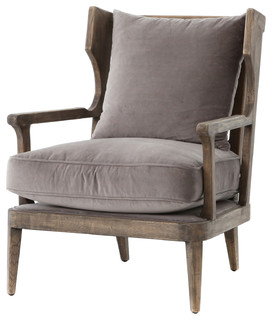 Ponce Arm Chair   Midcentury   Living Room Chairs   By Kathy Kuo Home Part 38