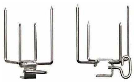 Commercial Quality Rotisserie Forks.