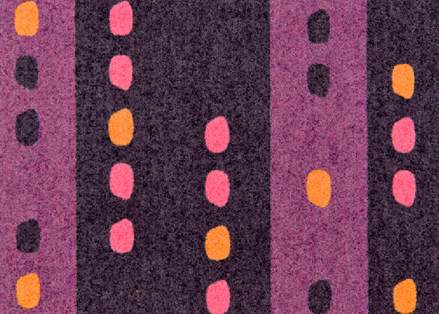 Clean Keeper Purple Spots Doormat