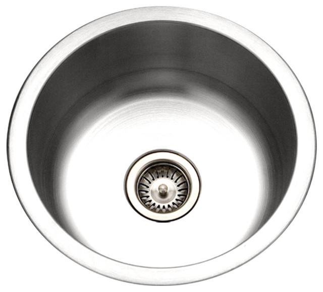 Houzer Cf 1830 Club Series Undermount Round Bar Prep Sink