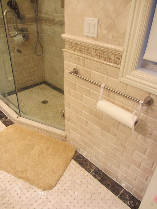 Travertine Subway Tile Design Ideas