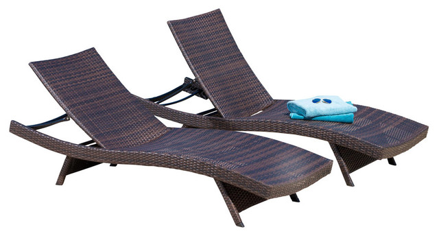 Lakeport Outdoor Lounge Chairs Set Of 2 Tropical