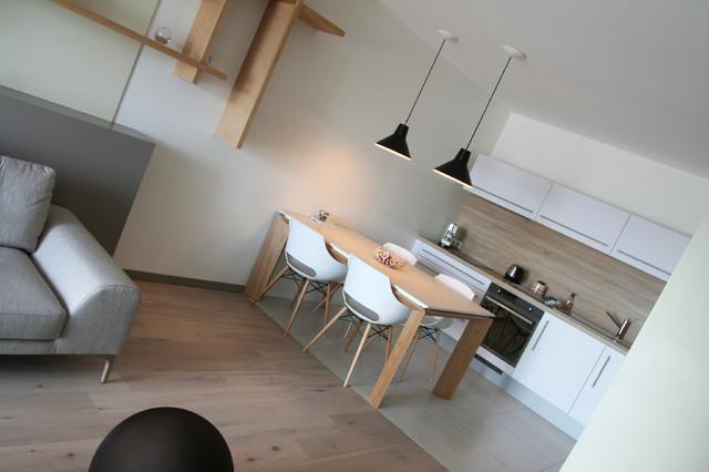 Appartement la rochelle contemporary kitchen nantes for Appartement design la rochelle