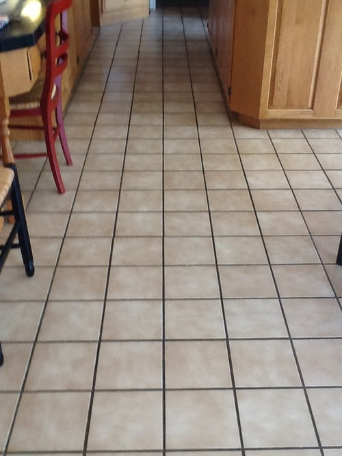 replace kitchen tile floor or not?