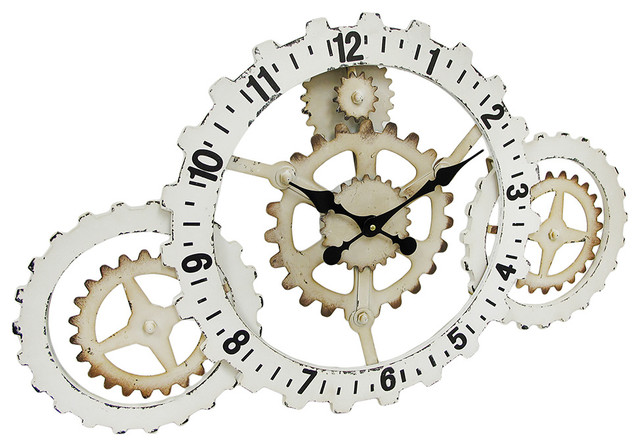 Moving Gear Wall Clocks Houzz