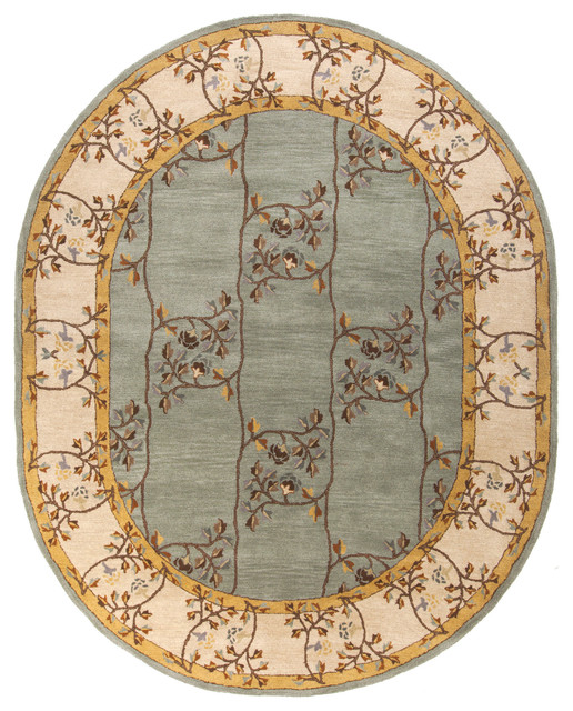 Surya Caesar Classic Arts And Crafts Moss Area Rug Traditional