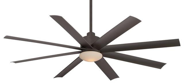 "Minka Aire Slipstream 65"" Oil Rubbed Bronze Outdoor Ceiling Fan."