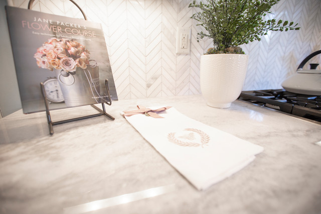 Contemporary Style at The Townes contemporary-kitchen