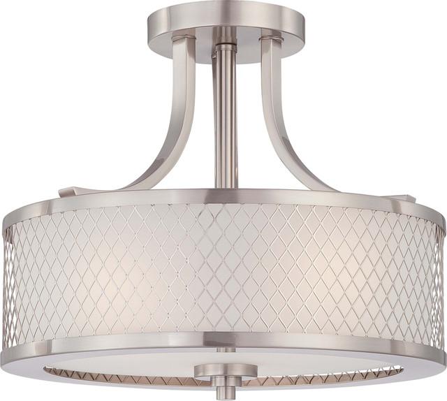 white lighting light flush hardware shade mount ceiling semi p lights