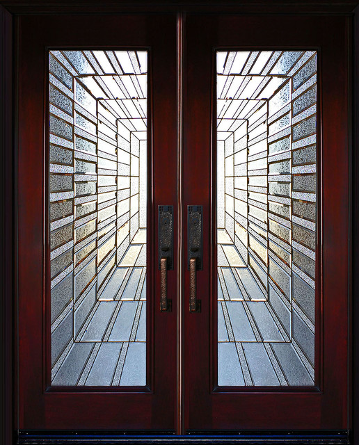Exterior Front Entry Double Wood Door Time Tunnel 36 Quot X80