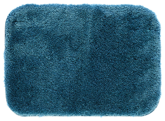 Mohawk Home Spa Bath Rug Teal Contemporary Bath Mats