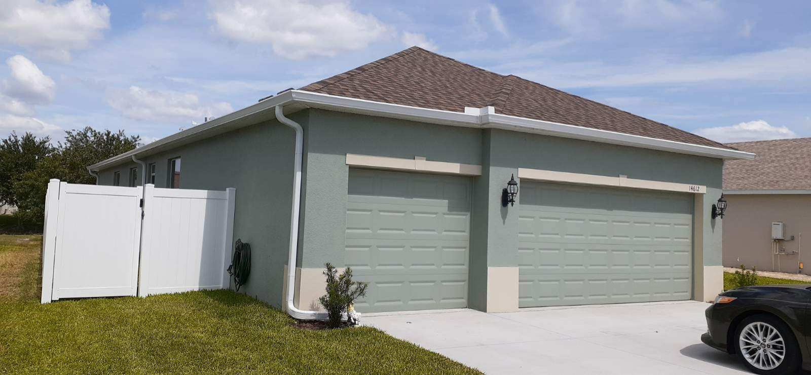 Residential Gutters - Standard