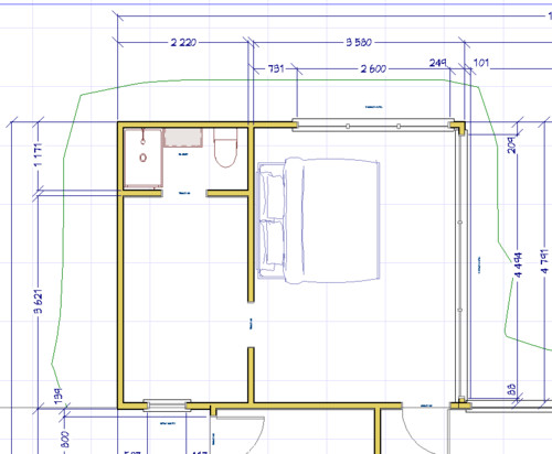 Master Bedroom Robe Ensuite Layout Help