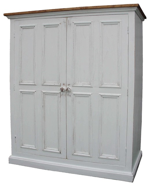 Linen Cupboard Traditional Armoires And Wardrobes By