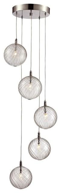 5-Light Pendant Kitchen/dining Room Light.