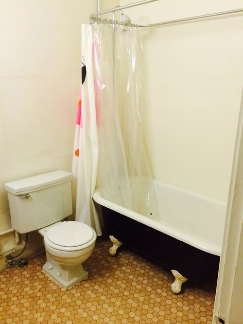 Clawfoot Tub Shower Curtain Solution. shower curtain clawfoot tub ...