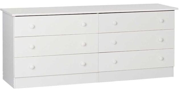 Wooden Dresser, Edenvale, White.